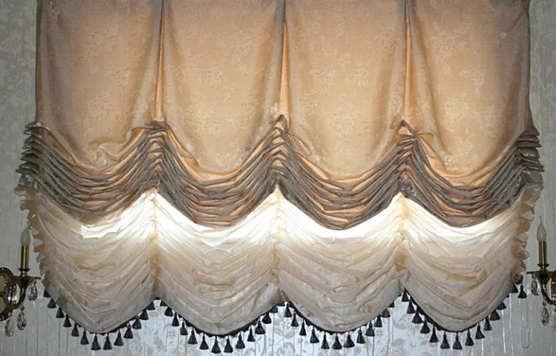 Французкие шторы